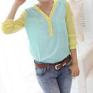 A 081906 temperament long-sleeved s..